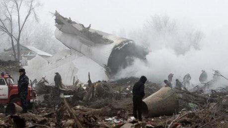 Kirghizistan, Incidente Aereo: cargo precipita a Manas: 32 Morti