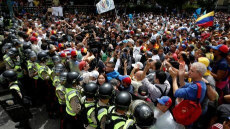 venezuela scontri voto