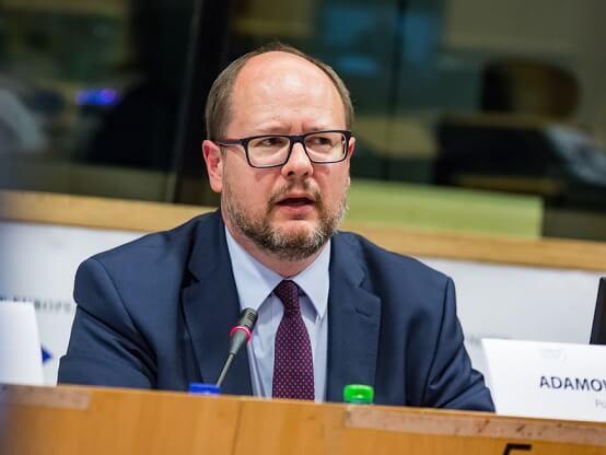 Sindaco Pawel Adamowicz