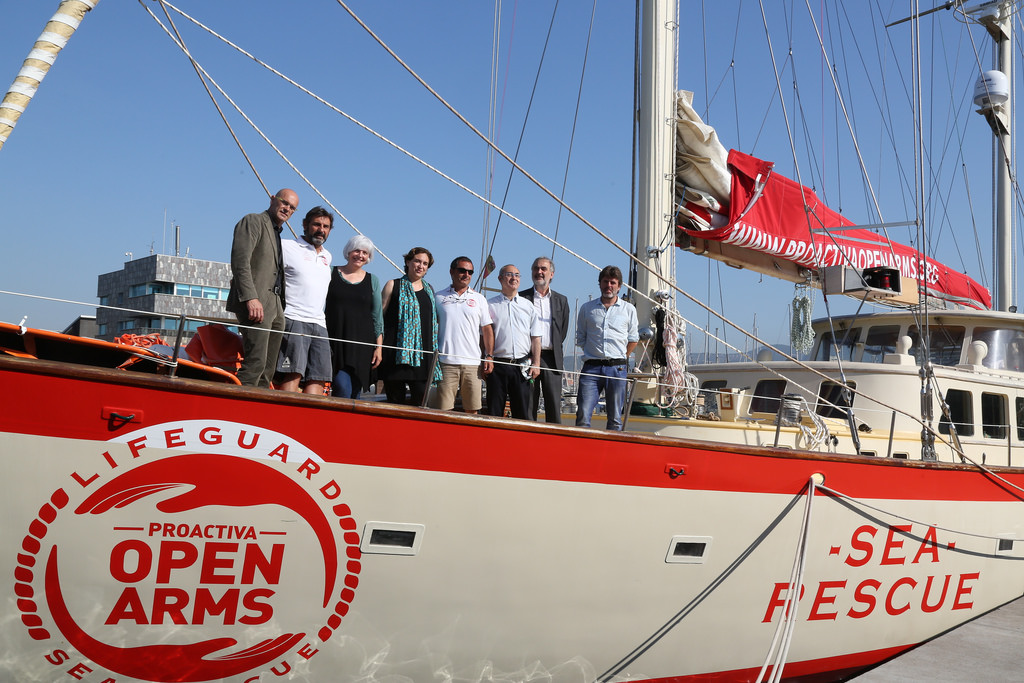 Migranti, Open Arms