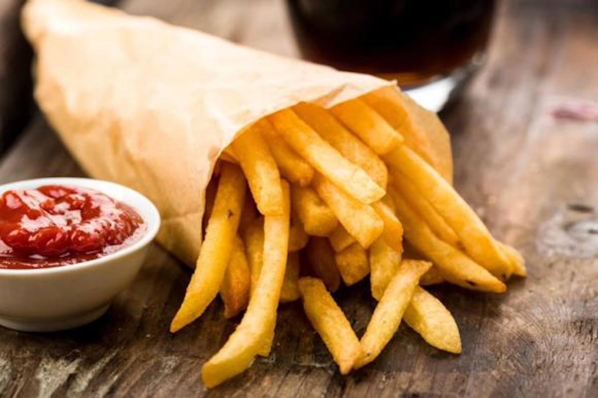 calvizie patatie fritte